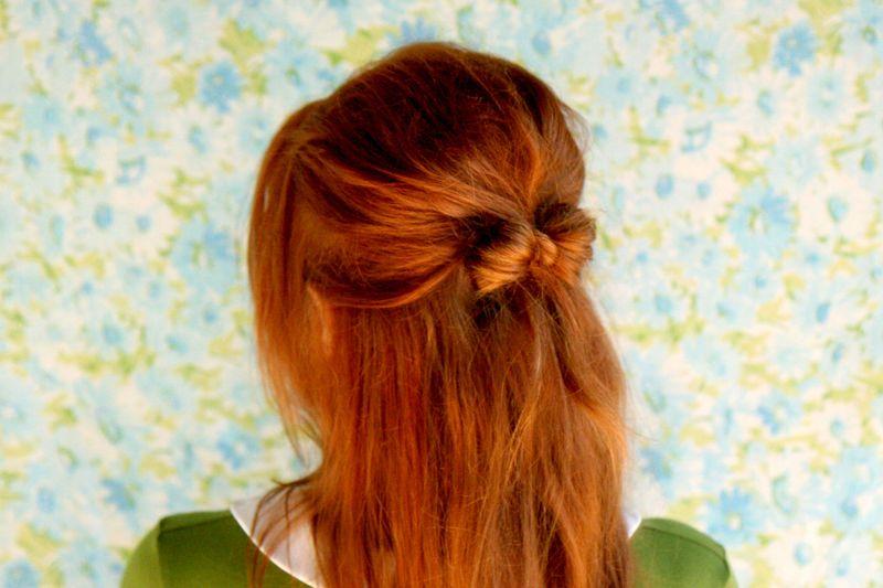 Hair Bow Luvly Long Locks